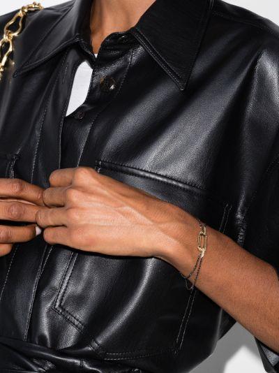 18K yellow gold Lucy diamond bracelet