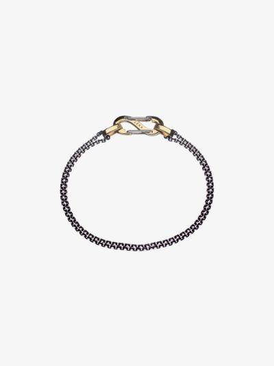 18K yellow gold Romy chain bracelet