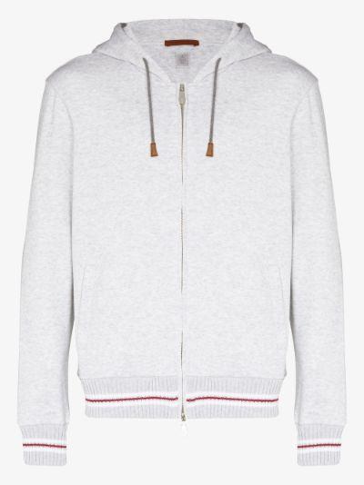 Organic Cotton Zip-Up Hoodie
