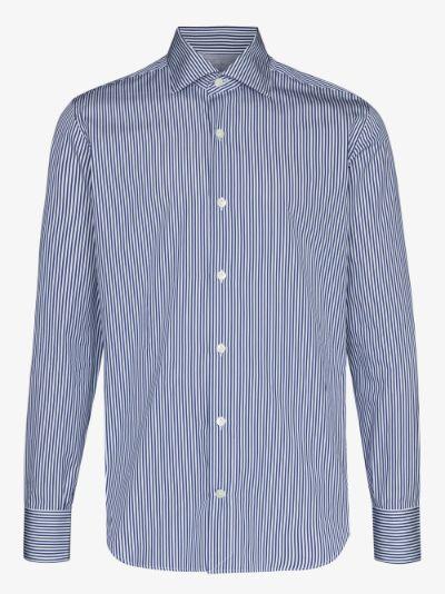 striped Egyptian cotton shirt