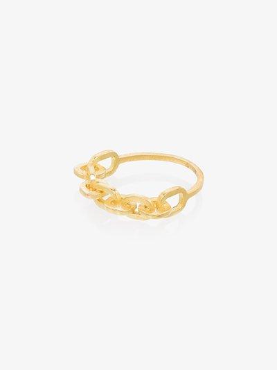 18K yellow gold Lamore ring