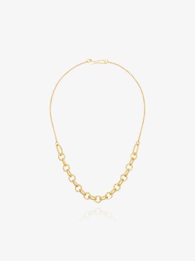 18K yellow gold Parisienne chain necklace