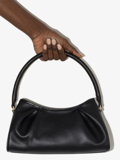 black Dimple leather shoulder bag