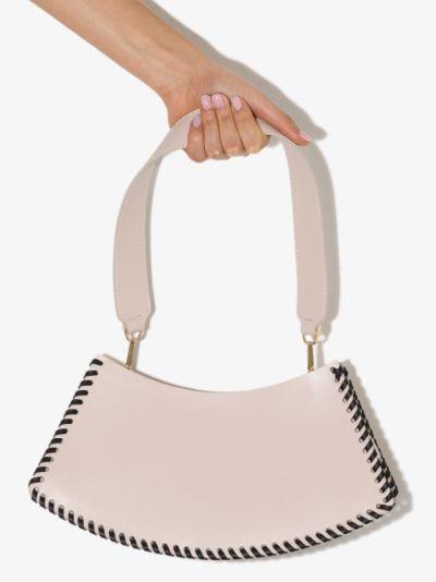 pink Swing leather shoulder bag