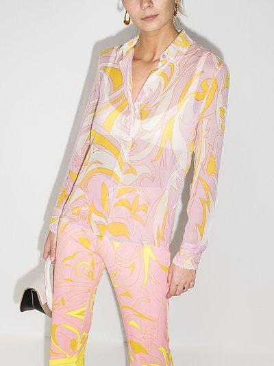 Dinamica print shirt