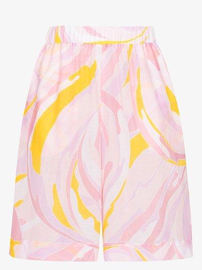 Vetrate print Bermuda shorts
