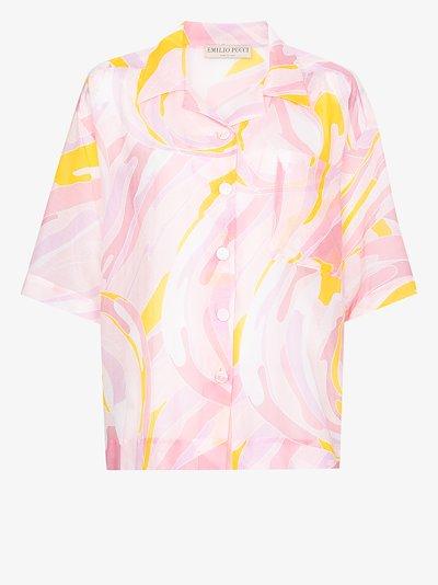 Vetrate print shirt