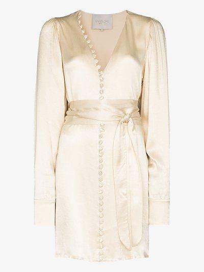 Nice belted mini dress