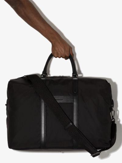 black Aircraft holdall bag