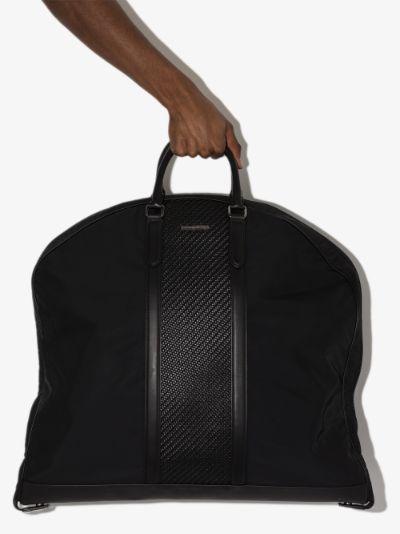 black Manager holdall bag
