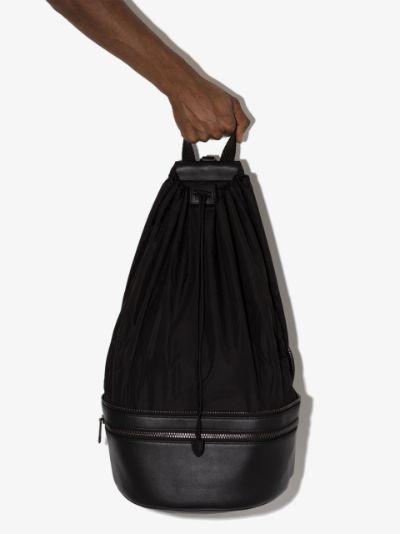 black Parachute convertible cross body bag