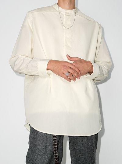 FEAROFGODZEGNA oversized grandad shirt