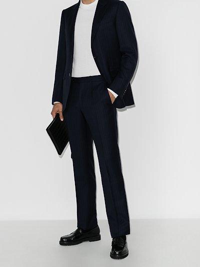 Milano tonal stripe two-piece suit
