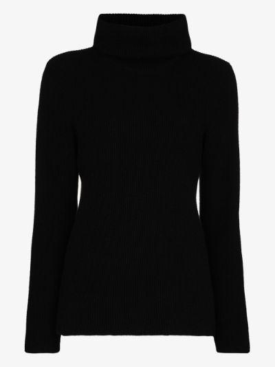 Ombeline roll neck sweater