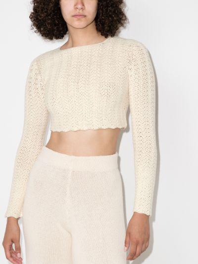Mawi crochet crop top