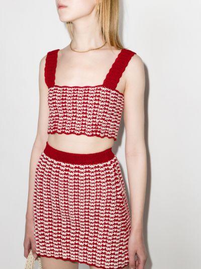 Orillo crochet crop top