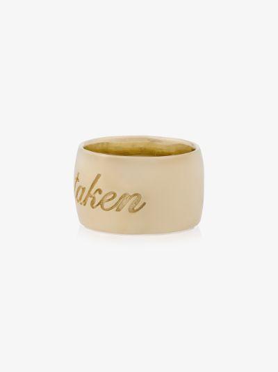 14K yellow gold Taken ring