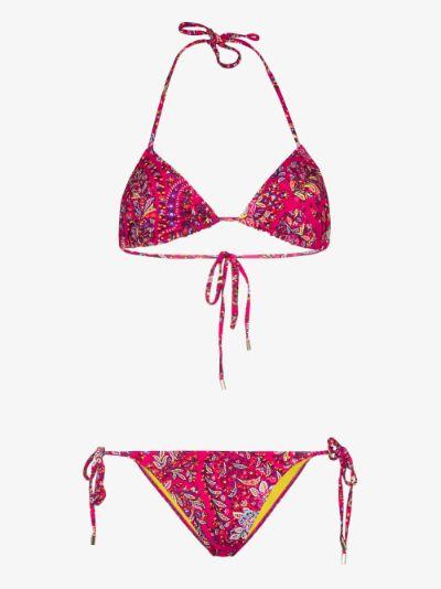 Ibiza paisley print bikini
