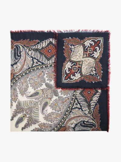 neutral Bombay scarf