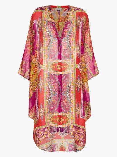 ponza kaftan dress