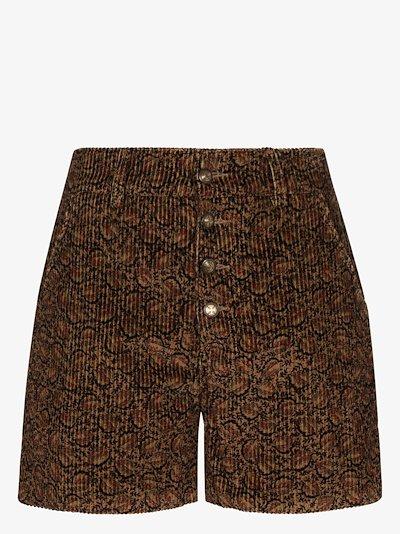tapestry corduroy shorts