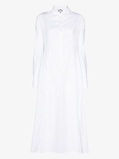 Honesty cotton shirt dress