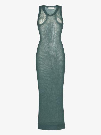 Vanish cashmere midi dress
