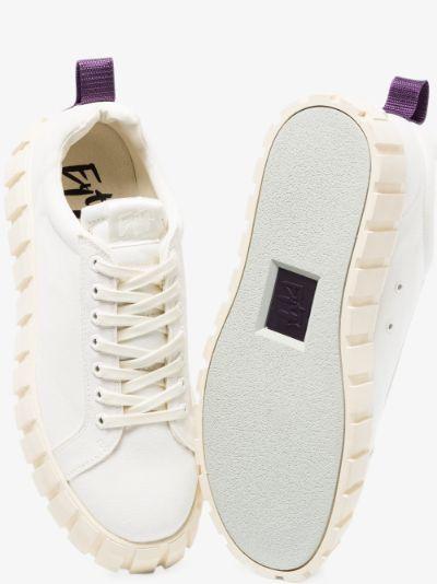 White Odessa canvas sneakers