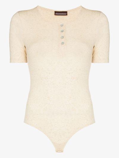 button-up bodysuit