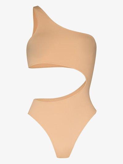 Carolina asymmetric bodysuit