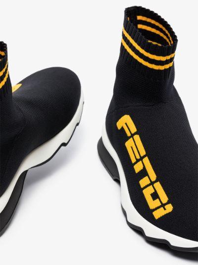 black Rockoko sock sneakers