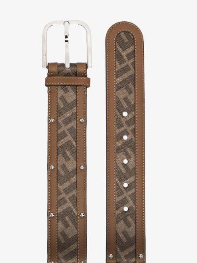 Brown Mania monogram belt