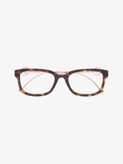 brown F is Fendi tortoiseshell glasses