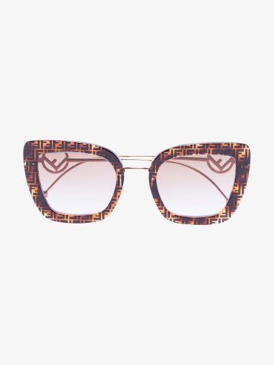 brown Havana FF sunglasses
