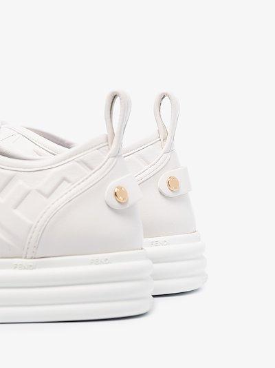 FF embossed sneakers
