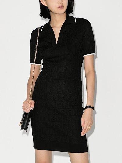 FF knit polo dress