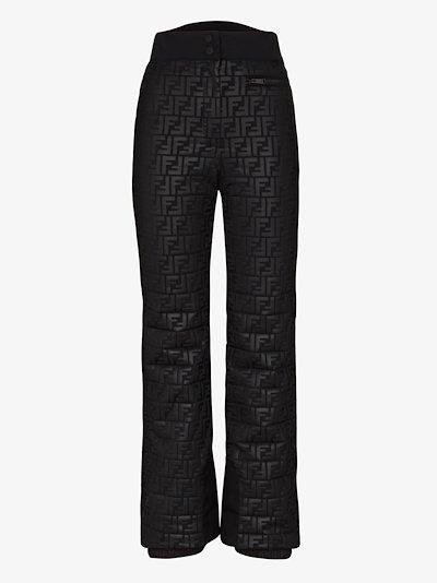 FF monogram ski trousers