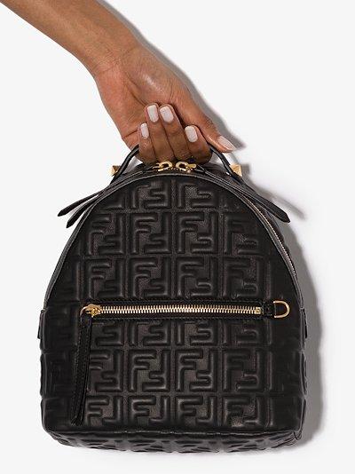 mini FF-motif backpack