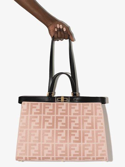 pink Peekaboo X medium tote bag