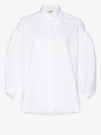 Puff sleeve shirt