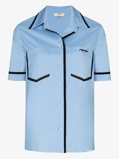 X Joshua Vides silk cotton shirt