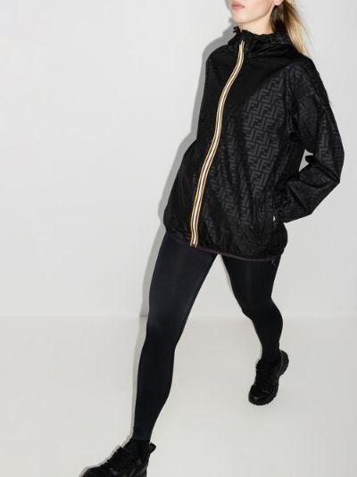 X K-Way reversible zipped lightweight jacket