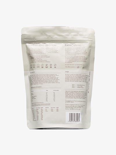 Superblend Protein caramel shake powder
