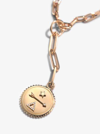 18K Rose Gold Dream Refined Clip Chain Diamond Necklace