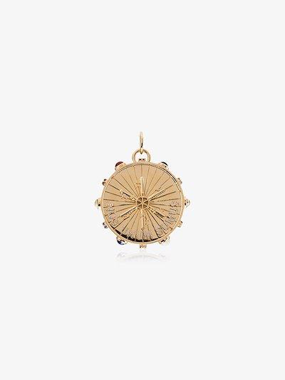 18K Yellow Gold Aether large pendulum charm