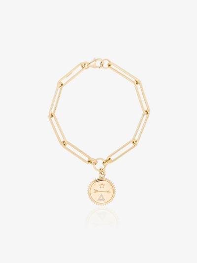 18K yellow gold Dream extended clip chain diamond bracelet