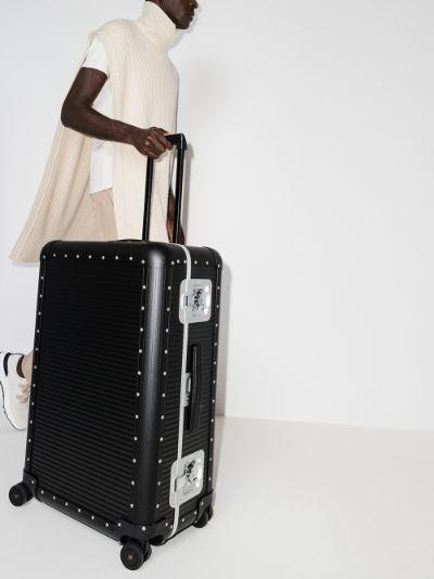 Black Bank Spinner 76 Suitcase
