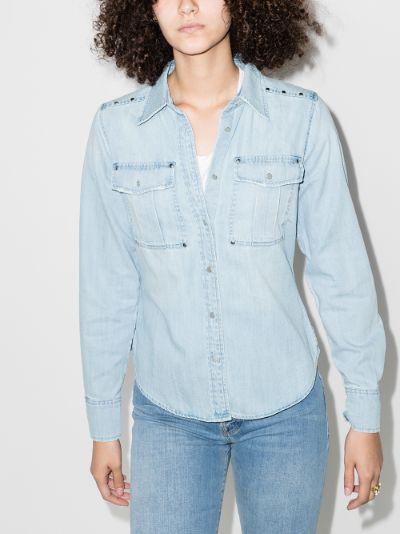 '70s studded denim shirt