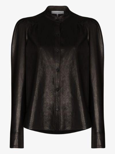 Charlie leather shirt