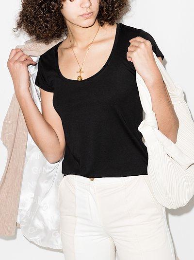 Denim Le Scoop cotton T-shirt